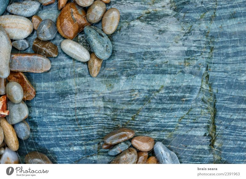 Natur blau Farbe Landschaft weiß Meer Erholung ruhig Strand Umwelt natürlich Küste Kunst Stein Menschengruppe braun