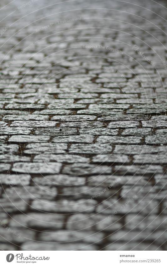 Schlossbergweg alt Straße Wege & Pfade Stein Linie gehen Quadrat Verkehrswege Pflastersteine Bodenbelag versetzt