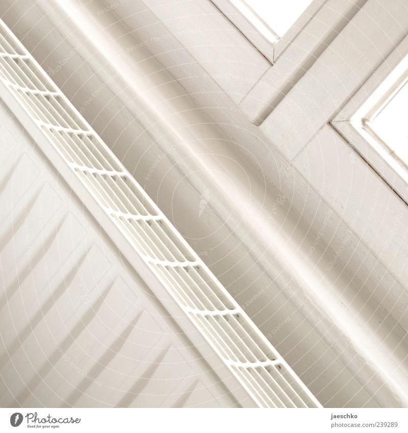 x weiß Einsamkeit Fenster grau hell Linie Wohnung Innenarchitektur einfach Sauberkeit rein diagonal Heizkörper Renovieren Heizung
