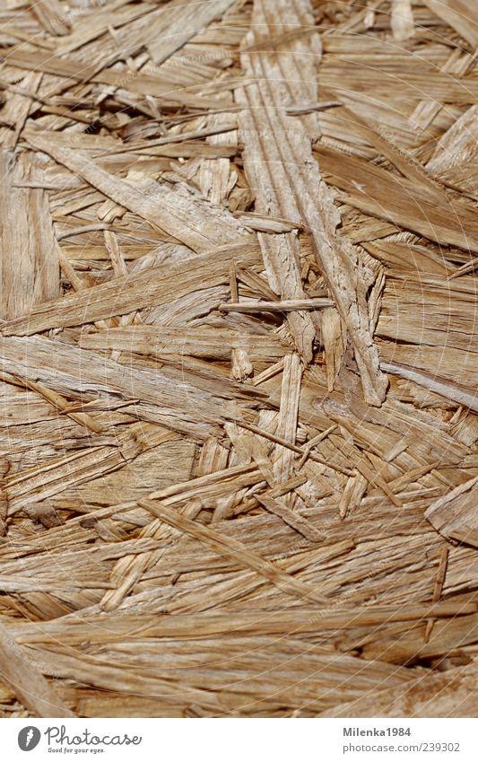 Hintergrund Holz braun gelb Pressholz Späne Spanholz Holzspäne Strukturen & Formen Holzsplitter Farbfoto Außenaufnahme Menschenleer Textfreiraum links