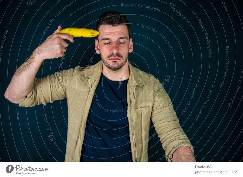 neeeeein!!!!!!!!! Mensch Jugendliche Mann Junger Mann Erwachsene Leben Gesundheit Gefühle Business Kunst Schule Kopf maskulin Zukunftsangst Student Krankheit
