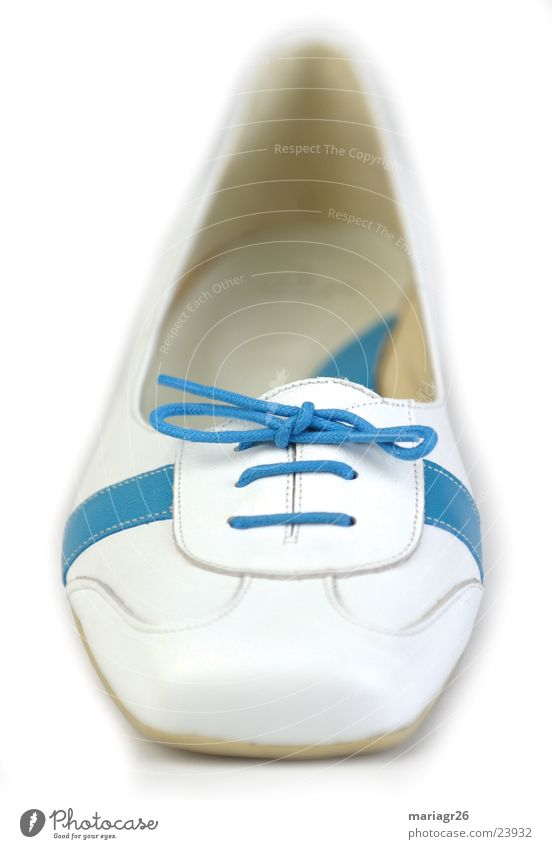 Zapato de Lola weiß blau Schuhe Dinge Gesetze und Verordnungen