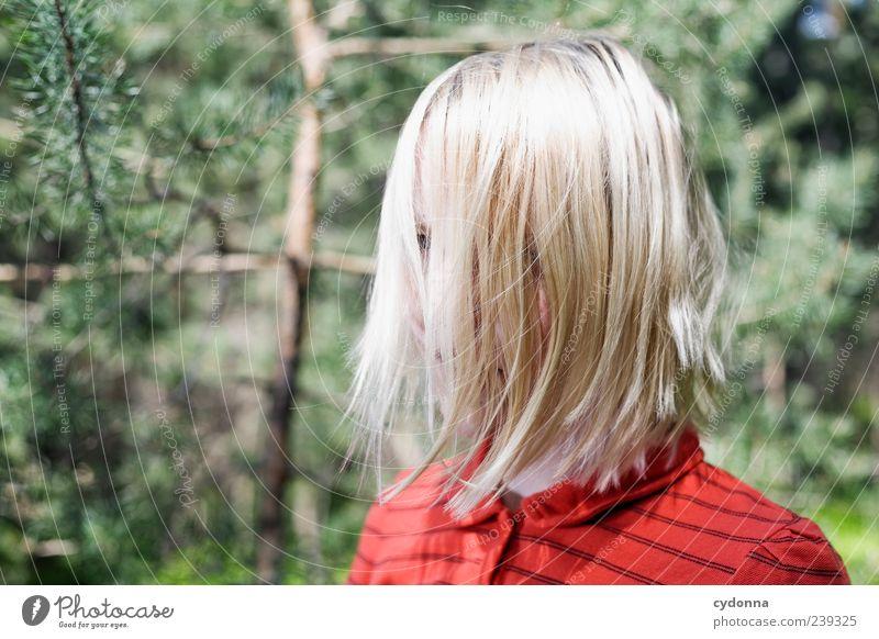 A-N-N-A Mensch Natur Jugendliche ruhig Erwachsene Gesicht Umwelt Leben Haare & Frisuren Kopf Stil blond Junge Frau 18-30 Jahre ästhetisch einzigartig