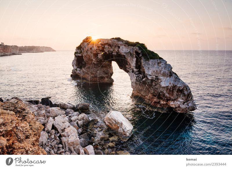 Das Tor Natur Ferien & Urlaub & Reisen Sommer schön Landschaft Meer Erholung ruhig Ferne Wärme Küste Tourismus Freiheit Felsen Ausflug Freizeit & Hobby
