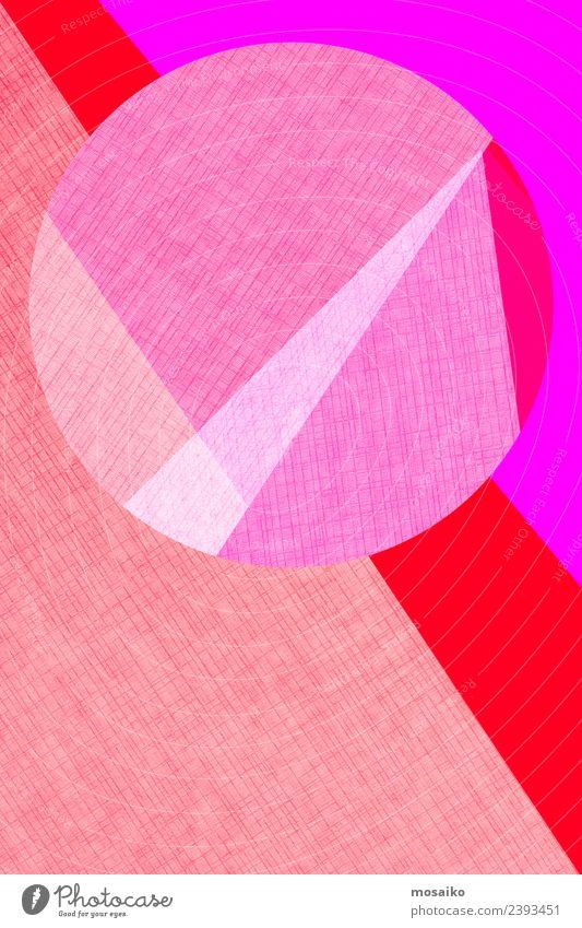 Kreisdesign - bunte Papiercollage Lifestyle elegant Stil Design exotisch Freude Tapete Feste & Feiern Valentinstag Silvester u. Neujahr Geburtstag Kindergarten