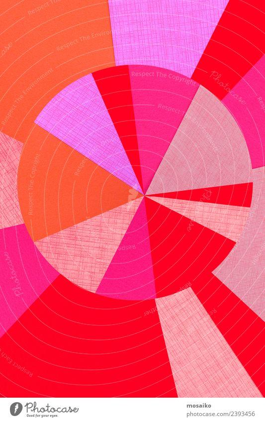 circle design - colorful paper collage Lifestyle elegant Stil Design exotisch Freude Glück Leben harmonisch Tapete Feste & Feiern Valentinstag