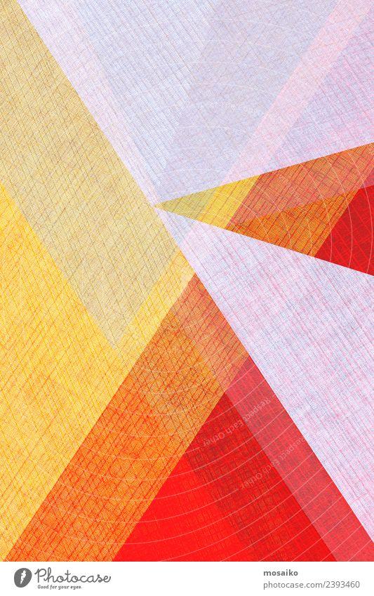 graphische Formen - Collage Stil Design Kunst Kunstwerk Mode ästhetisch außergewöhnlich Coolness eckig elegant Fröhlichkeit trendy positiv gelb orange rosa