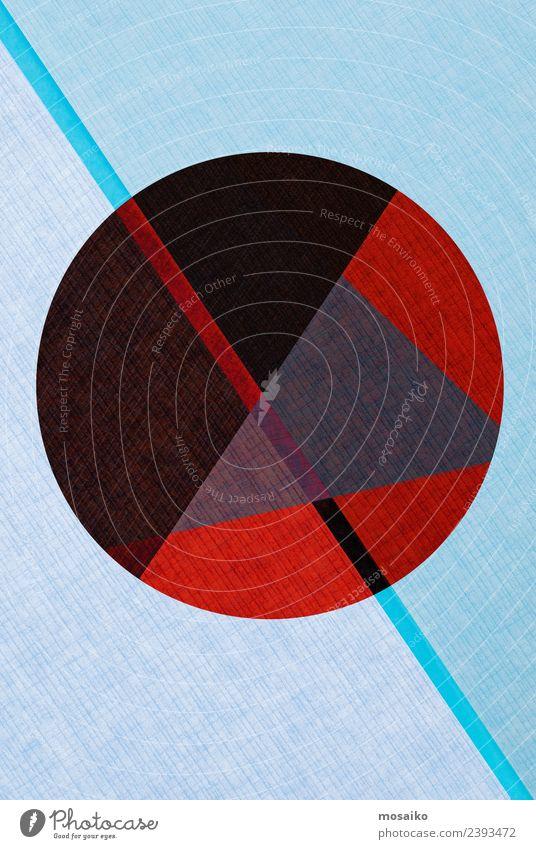 Kreisdesign - bunte Papiercollage Lifestyle elegant Stil Design Freude Nachtleben Entertainment Party Veranstaltung Club Disco Feste & Feiern Kunst Kunstwerk