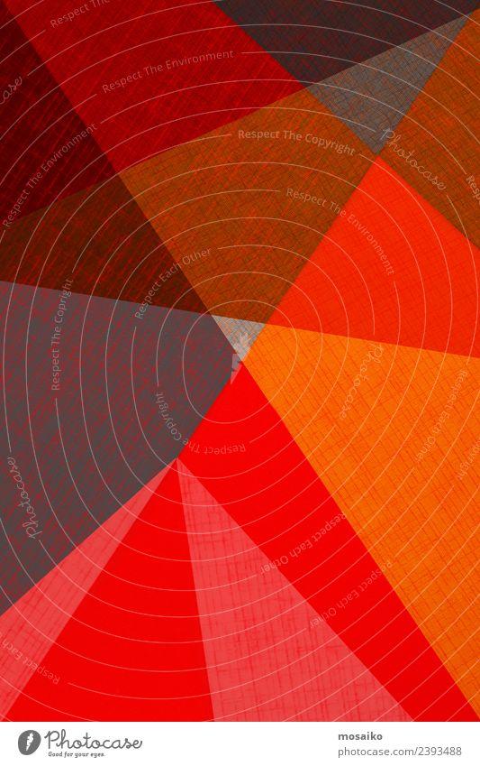 Farbe rot schwarz Stil Business Glück Kunst Mode Design hell Linie modern Kreativität Papier einfach Hochzeit
