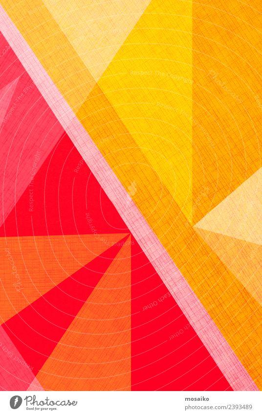 Farbe rot Lifestyle gelb Stil Business Kunst Mode Feste & Feiern Design hell Linie modern Kreativität Papier einfach