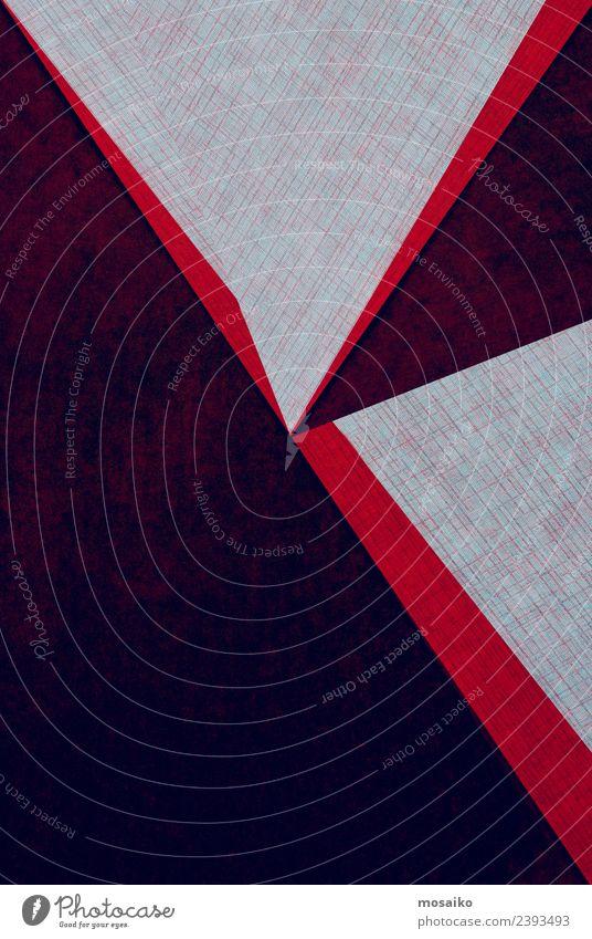geometrische Formen auf Papierstruktur Lifestyle Stil Design Tapete Hochzeit Handwerk Business Internet Kunst Mode Paket Linie einfach einzigartig modern