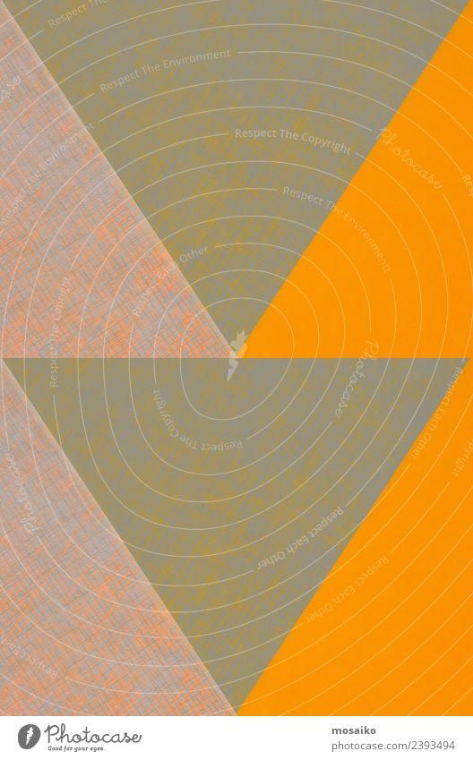 Dreiecke - geometrische Formen auf Papierstruktur Stil Design Glück Tapete Hochzeit Handwerk Business Internet Kunst Mode Paket Linie einfach hell modern Farbe