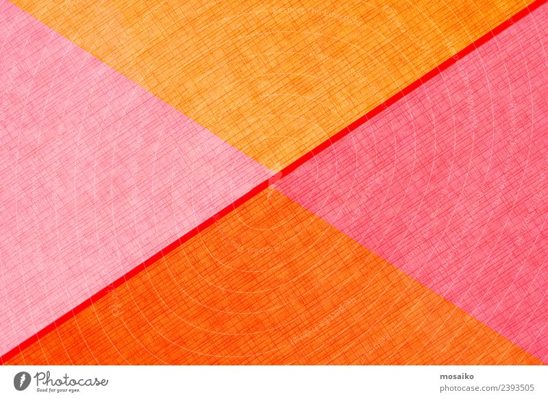 geometrische Formen auf Papierstruktur Stil Design Glück Tapete Hochzeit Handwerk Business Internet Kunst Mode Paket Linie einfach hell modern Farbe Kreativität