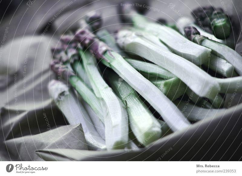 Spargel ruhig Lebensmittel Gemüse Gesunde Ernährung Bioprodukte Vegetarische Ernährung Spargel roh Vegane Ernährung