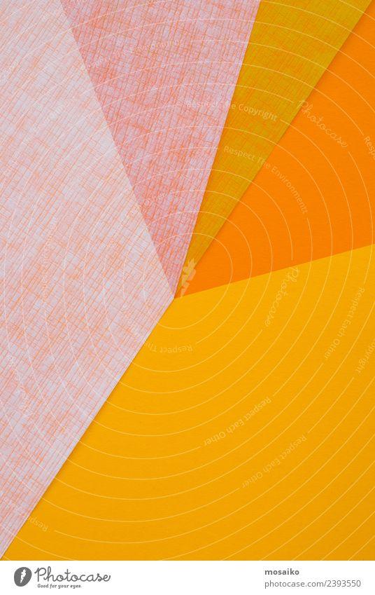 Grafische Formen aus Papier Lifestyle elegant Stil Design Freude schön Glücksspiel Dekoration & Verzierung Feste & Feiern Kindererziehung Bildung Kindergarten