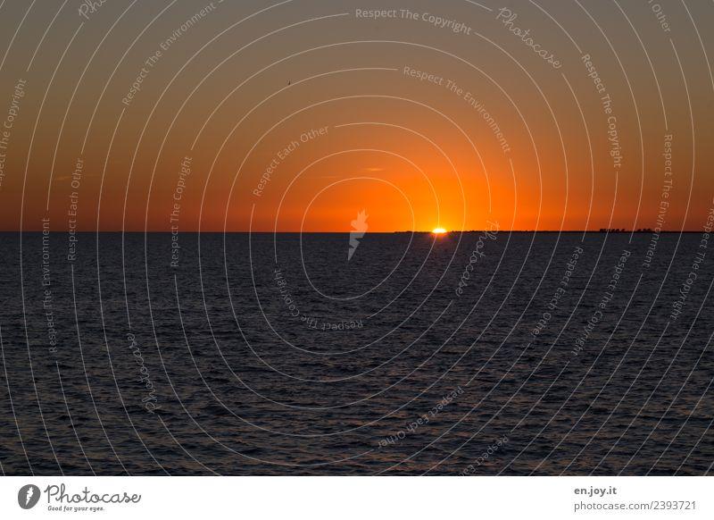 gleich vorbei Ferien & Urlaub & Reisen Ferne Freiheit Sommer Sommerurlaub Sonne Meer Natur Landschaft Himmel Horizont Sonnenaufgang Sonnenuntergang Sonnenlicht