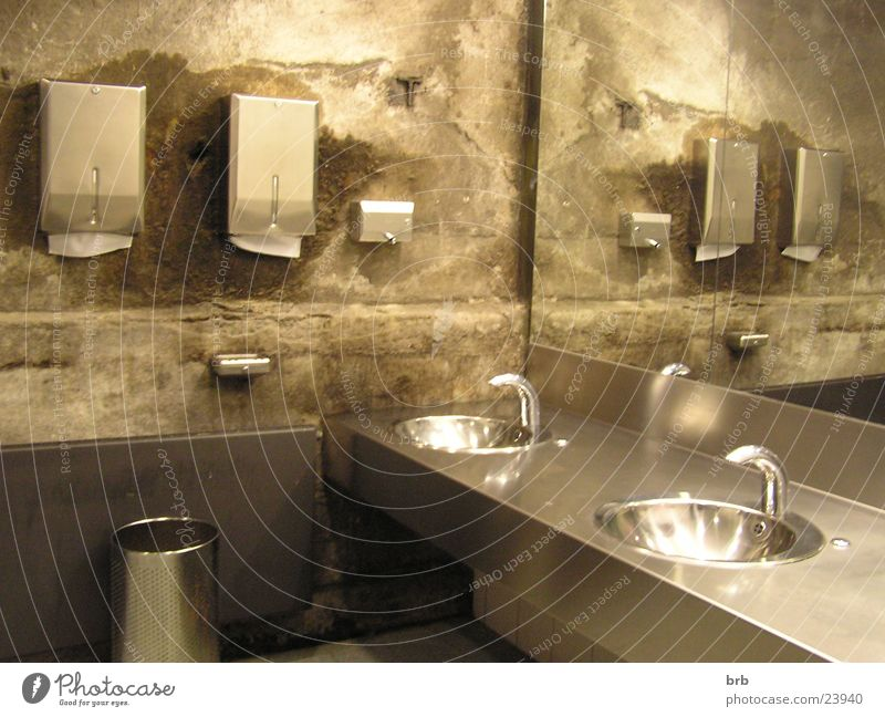 AufdemKlo Fabrik Sauberkeit Spiegel Toilette Messe Ausstellung Waschbecken Restauration Waschtisch