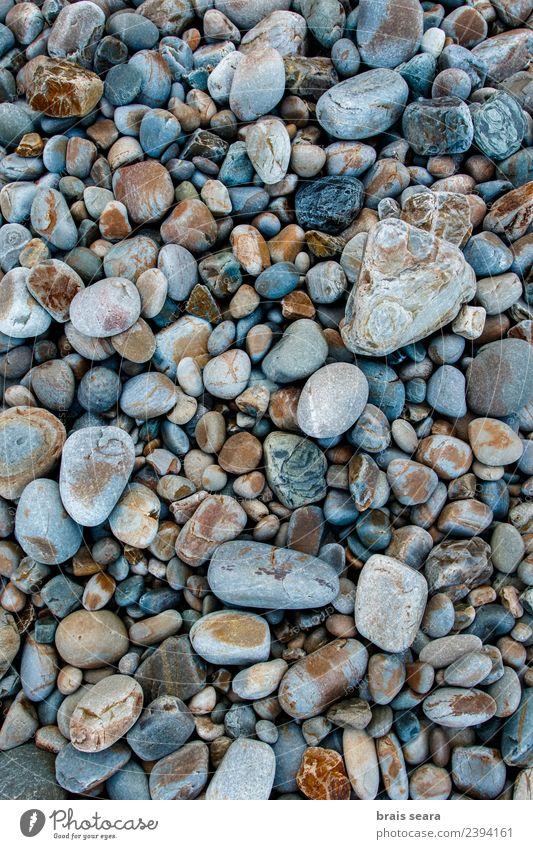 Kieselsteine Hintergrund Design schön Ferien & Urlaub & Reisen Sommer Strand Meer Dekoration & Verzierung Tapete Wissenschaften Umwelt Natur Landschaft Sand