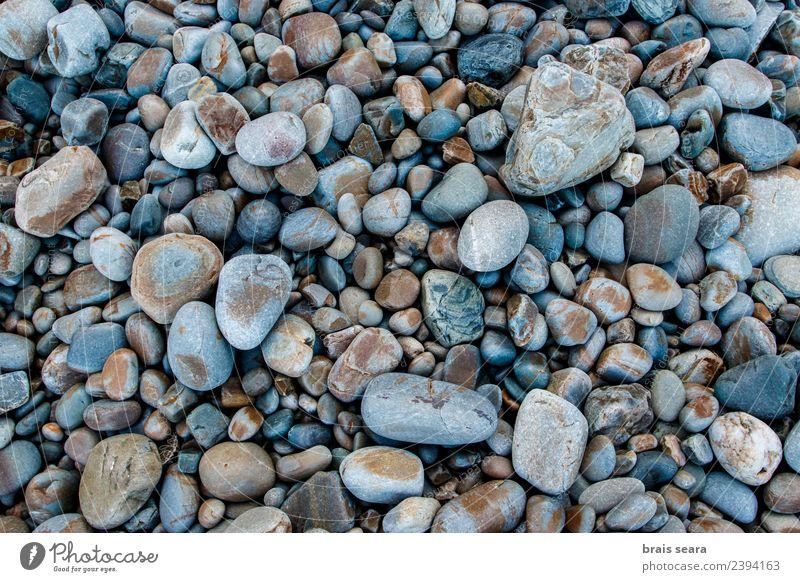 Kieselsteine Hintergrund Design schön Ferien & Urlaub & Reisen Sommer Strand Meer Dekoration & Verzierung Tapete Kunst Kunstwerk Umwelt Natur Landschaft Erde