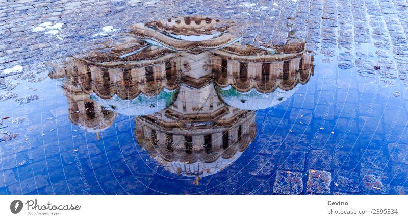 Alexander-Newski-Kathedrale Ferien & Urlaub & Reisen Tourismus Ausflug Sofia Bulgarien Europa Hauptstadt Stadtzentrum Kirche Platz Bauwerk Gebäude Fassade Dach