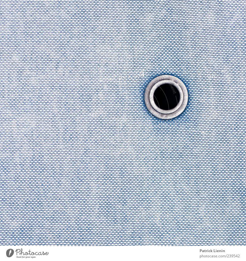 ° blau Linie ästhetisch Kreis rund einfach Kunststoff Loch Abdeckung Abfluss