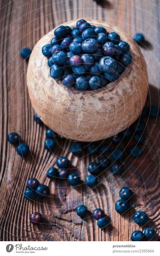 Natur blau Sommer Speise natürlich Holz Lebensmittel oben Frucht Ernährung Aussicht frisch authentisch Tisch lecker Ernte