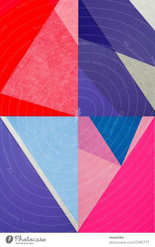 Rhombus - Farbenfrohe Formen Freude Lifestyle Stil Kunst Schule Mode Stimmung Design elegant Kreativität verrückt Papier Bildung exotisch Reichtum