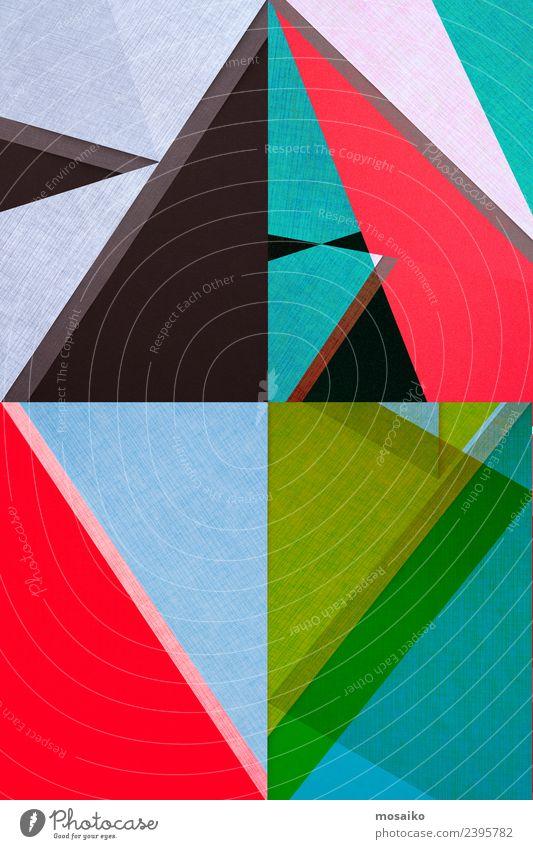 Rhombus - grafische Formen Lifestyle elegant Stil Design exotisch Freude Leben Entertainment Party Veranstaltung Club Disco Feste & Feiern Kunst Kultur Papier