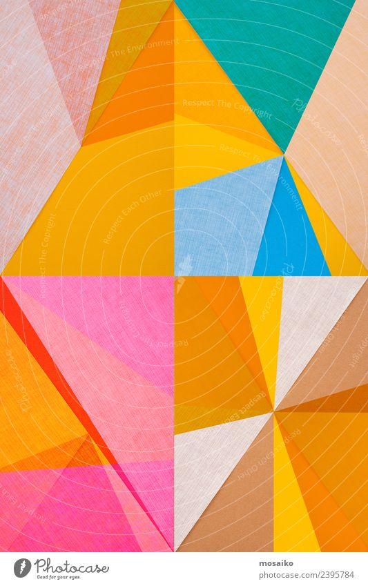Rhombus - grafische Formen Kind Freude Lifestyle Leben Stil Kunst Party Feste & Feiern Design Zufriedenheit elegant Ordnung Kultur Kreativität Perspektive