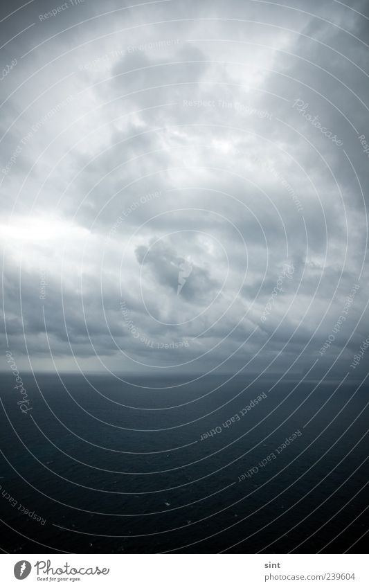 end of the world Himmel Natur Wasser Meer Einsamkeit Wolken Ferne Umwelt dunkel träumen Horizont Wetter Klima bedrohlich Unendlichkeit Sehnsucht