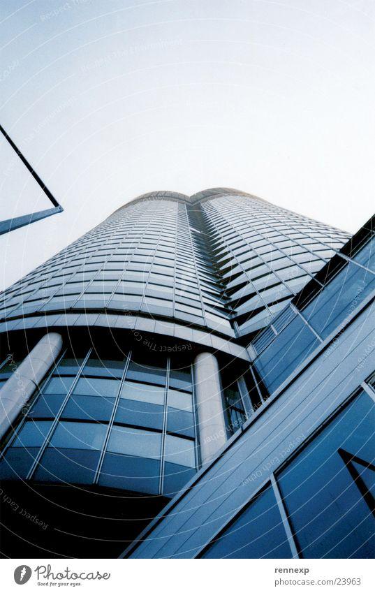 >  /millenium_tower\ Hochhaus Wien Froschperspektive Kunst Gebäude Glasfassade Fenster Ordnung Beton Wachturm Laterne aufwärts Architektur milleniumtower