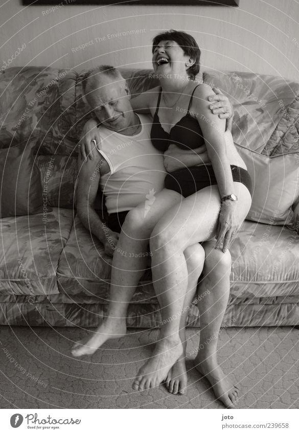 wie wir sind Mensch Frau Mann alt Freude Liebe Leben Erotik Senior lachen Glück Paar Gesundheit Zusammensein Zufriedenheit natürlich