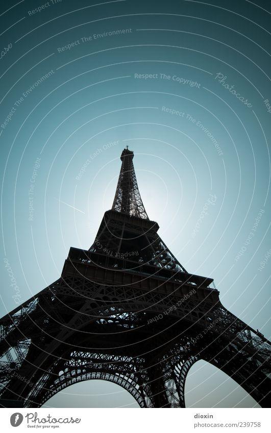 Supergroß 124,90 m × 124,90 m Himmel alt Ferien & Urlaub & Reisen Architektur außergewöhnlich groß authentisch Tourismus Europa Turm Bauwerk historisch Paris Wahrzeichen Frankreich Stadtzentrum