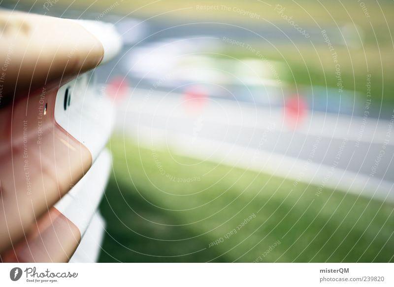 compete. weiß rot Gras Geschwindigkeit Sicherheit Asphalt nah Verkehrswege Kurve Rennbahn Autorennen Nervenkitzel Motorsport Leitplanke Sportstätten Formel 1