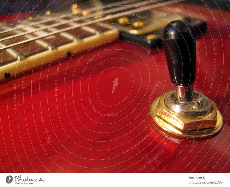 Nippelstick Elektrogitarre laut Makroaufnahme Nahaufnahme Gitarre Les Paul Musik Rockmusik