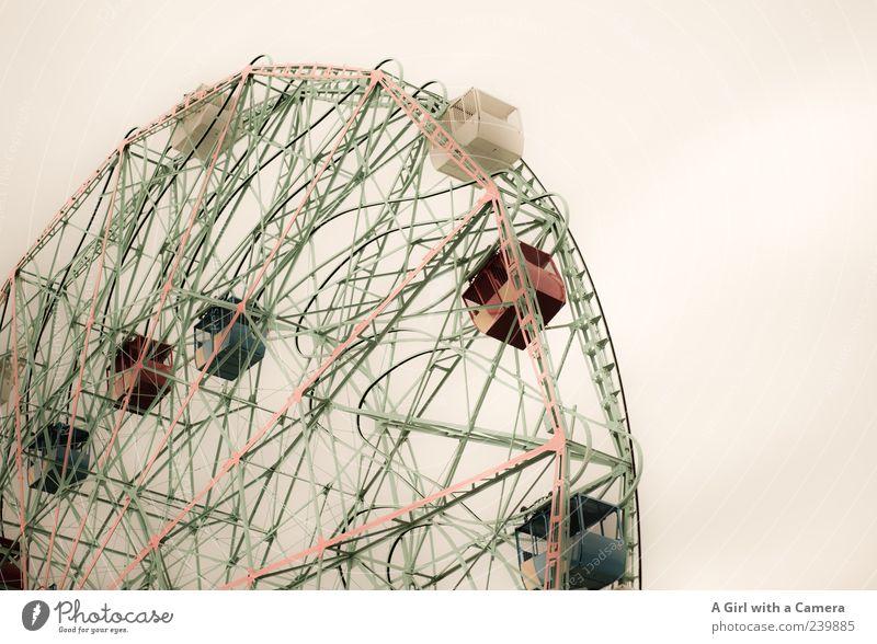 Big Wheel at Coney Island - Brooklyn NYC Freizeit & Hobby Jahrmarkt Ferien & Urlaub & Reisen Bewegung fahren fantastisch Fröhlichkeit gigantisch hoch