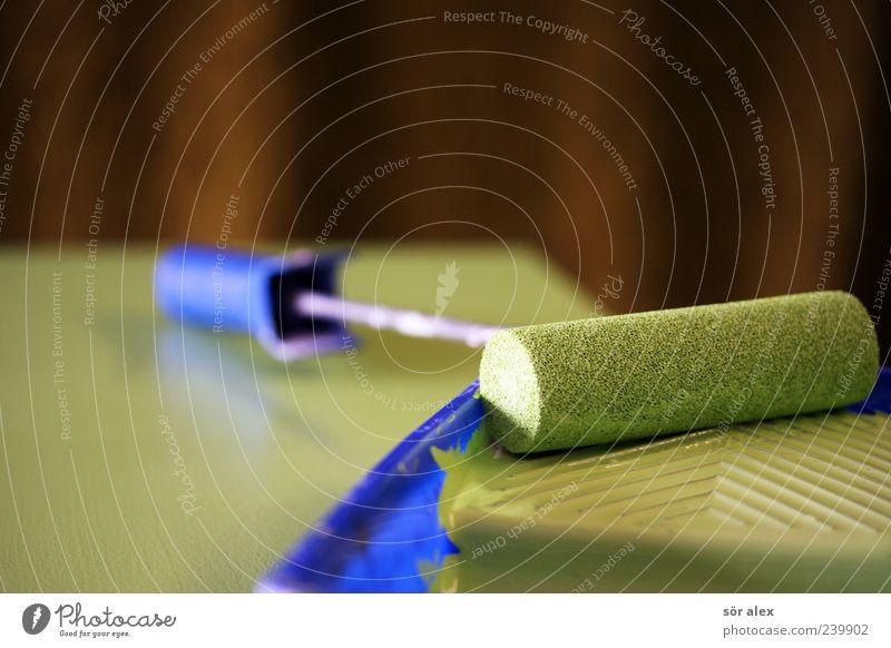 fresh color blau schön grün Farbstoff Holz braun Arbeit & Erwerbstätigkeit Freizeit & Hobby Design frisch Kreativität Baustelle trendy Handwerk