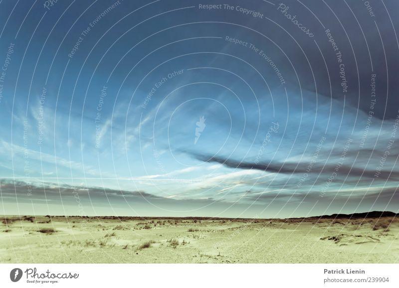 Spiekeroog | Skywalking Natur Ferien & Urlaub & Reisen Meer Strand Einsamkeit Ferne Umwelt Landschaft Freiheit Küste Sand hell Erde Wetter Zufriedenheit Wind