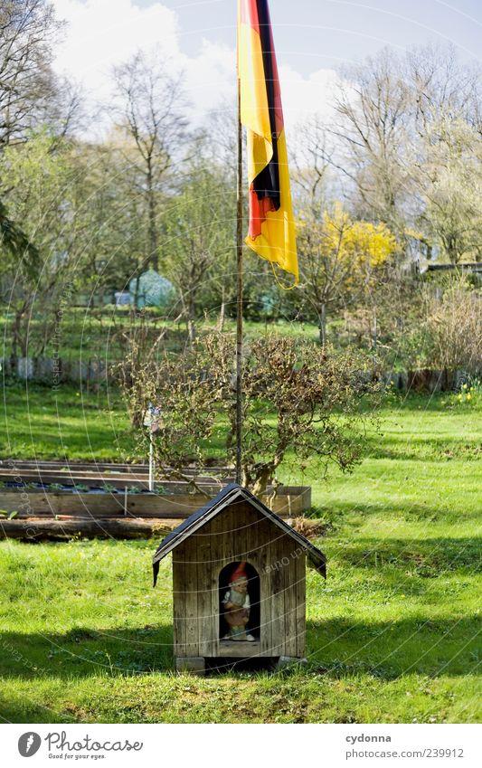 Deutsche Bescheidenheit Natur ruhig Haus Erholung Umwelt Landschaft Wiese Leben Garten Stil Deutschland Freizeit & Hobby Design einzigartig Idylle Kreativität