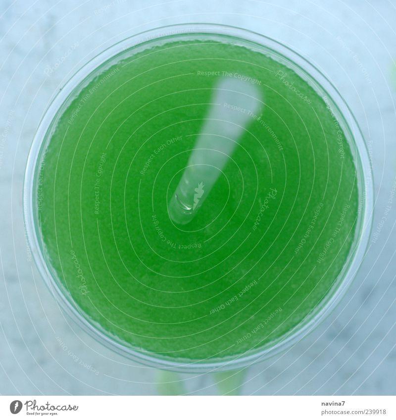 Eisgetränk 1 grün Lebensmittel verrückt süß Getränk Becher Erfrischungsgetränk Limonade Unschärfe