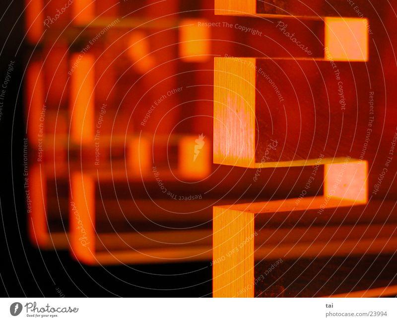 333 Sechziger Jahre Licht Makroaufnahme Nahaufnahme orange 3e Rock 'n' Roll loungin
