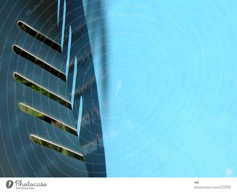 77° blau Luft Ecke Grafik u. Illustration abstrakt Fototechnik
