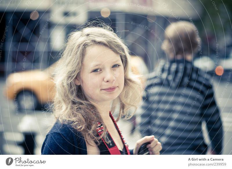 Amelie's NYC Mensch Jugendliche Ferien & Urlaub & Reisen schön Gesicht Straße feminin Haare & Frisuren Junge Frau blond Freundlichkeit unterwegs Frauengesicht