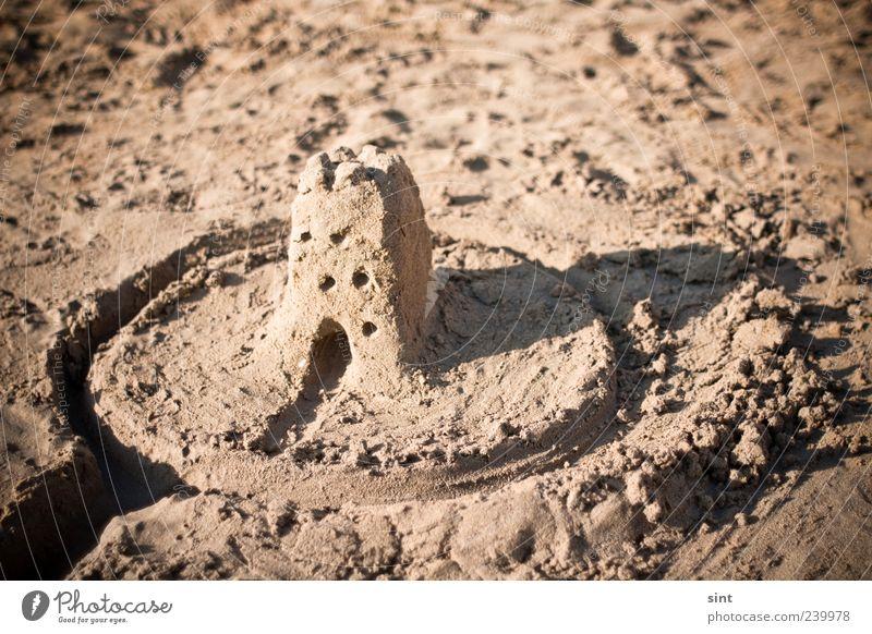 my home is my castle Ferien & Urlaub & Reisen Sommer Strand Spielen klein Sand Kindheit Freizeit & Hobby einzigartig Schönes Wetter einfach Sommerurlaub