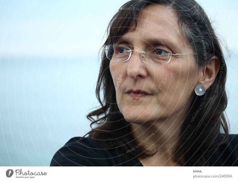 Be 52 Mensch Frau schön Erwachsene Gesicht Auge feminin Haare & Frisuren Kopf Zufriedenheit elegant ästhetisch Brille einzigartig Ohr 45-60 Jahre