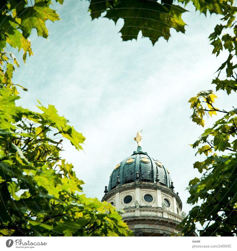 Klein-Paris Himmel Ferien & Urlaub & Reisen schön Sommer Blatt Umwelt Reisefotografie Berlin Deutschland gold Tourismus Europa Kirche Bauwerk Wahrzeichen