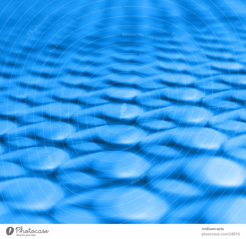 cyber-dots Hintergrundbild abstrakt Stil Langzeitbelichtung Fototechnik Punkt Makroaufnahme Punktmuster Symmetrie Geometrie Wiederholung blau Reihe aufgereiht