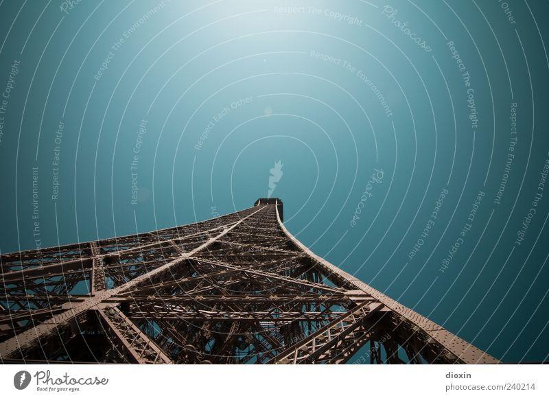20 Jahre Himmel Ferien & Urlaub & Reisen Architektur außergewöhnlich groß hoch Tourismus authentisch Europa Turm Schönes Wetter Bauwerk historisch Paris