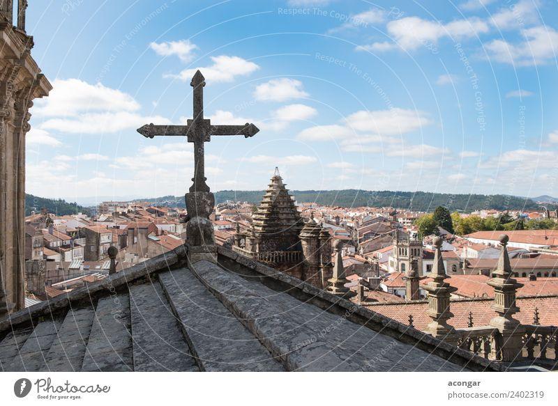 Ansichten der Stadt Santiago de Compostela (Galicien) Ferien & Urlaub & Reisen Tourismus Kultur Kirche Gebäude Architektur Denkmal alt historisch