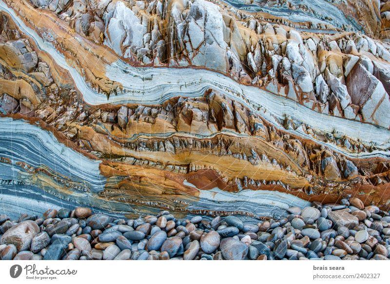 Sedimentäre Gesteinsstruktur Strand Meer Tapete Bildung Wissenschaften Geologie Beruf Geologen Umwelt Natur Erde Felsen Küste Stein türkis Farbe Playa Asturien